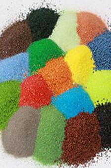 染色彩砂厂家